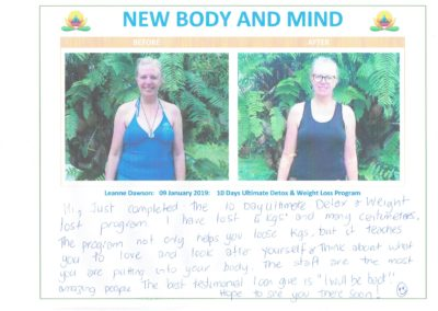 Guest Testimonial New Body and Mind Retreats