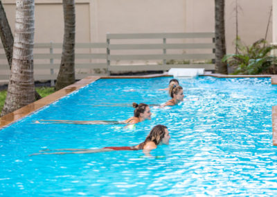 Pool Exercises at New Body and Mind Retreats