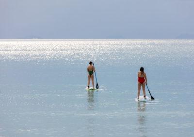 Kayaking at New Body and Mind Retreats