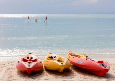 Kayaking at New Body and Mind Retreats