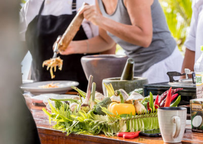 Cooking Class at New Body and Mind Retreats