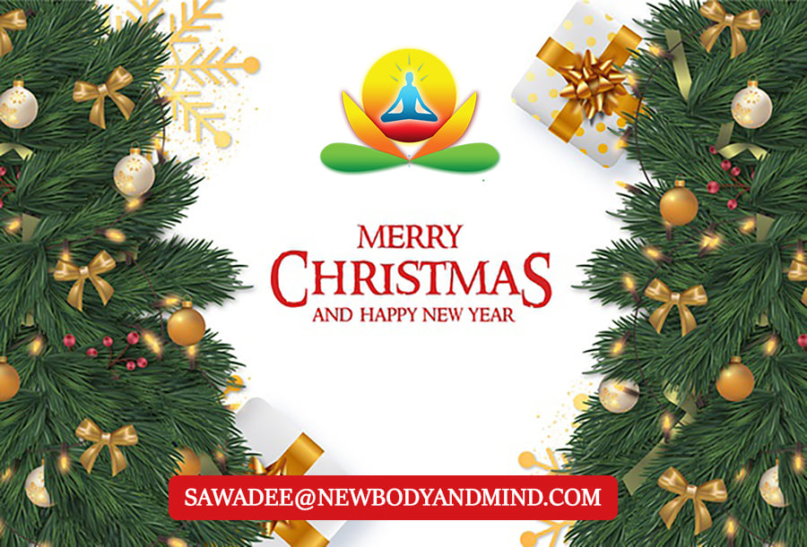 Happy Holidays and Merry Christmas from everyone at New Body and Mind