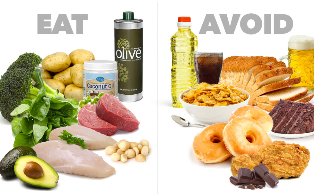 7 Foods to avoid