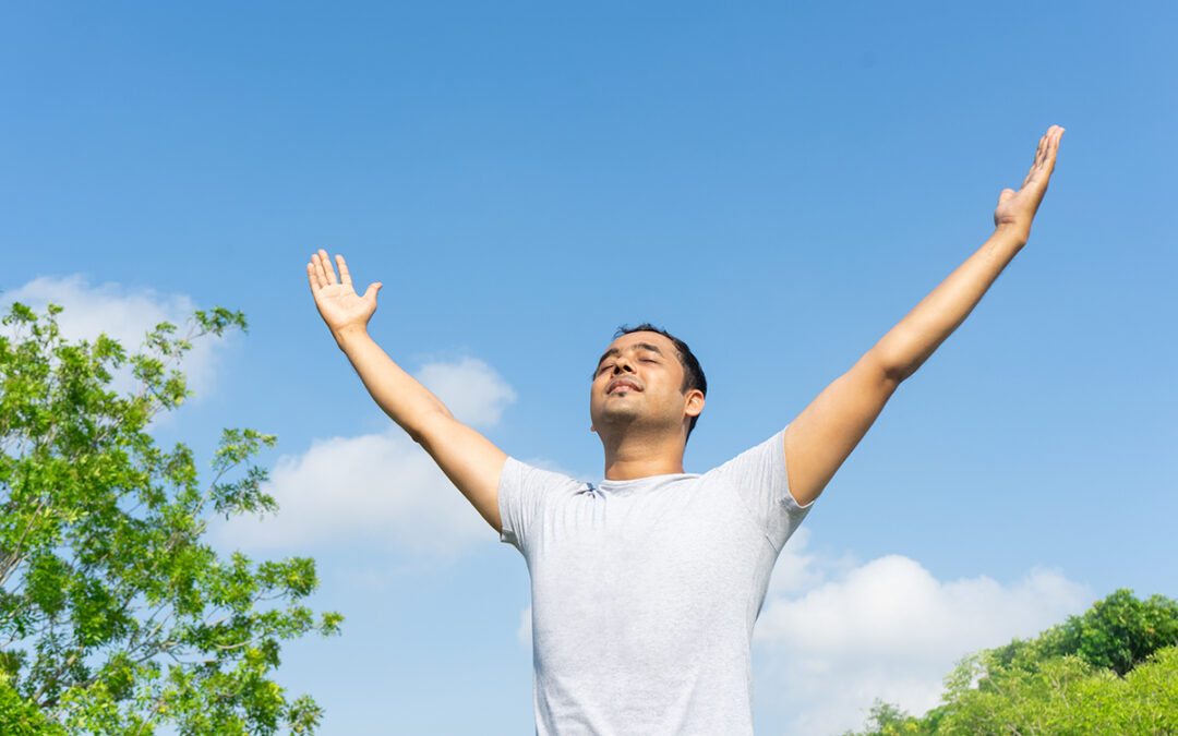 Breathing exercises to cope with anxiety