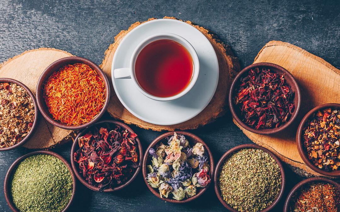 Herbal teas to activate metabolism