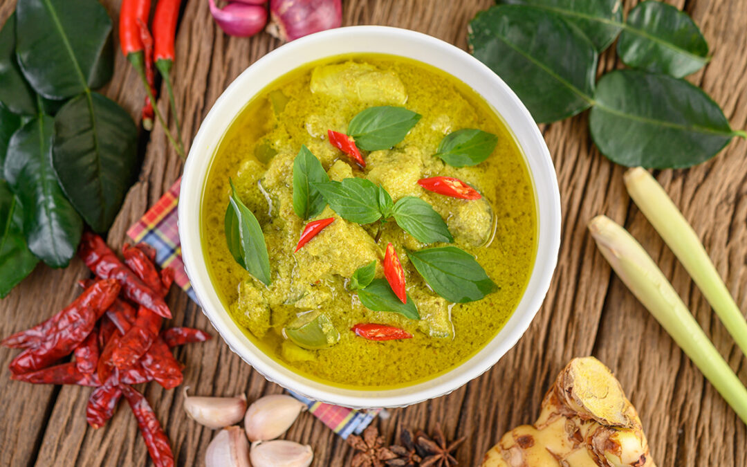 Sweet Green Curry