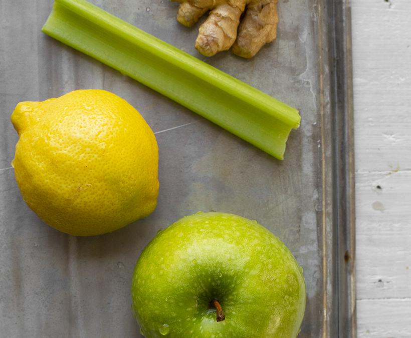Green Apple Ginger Celery Juice