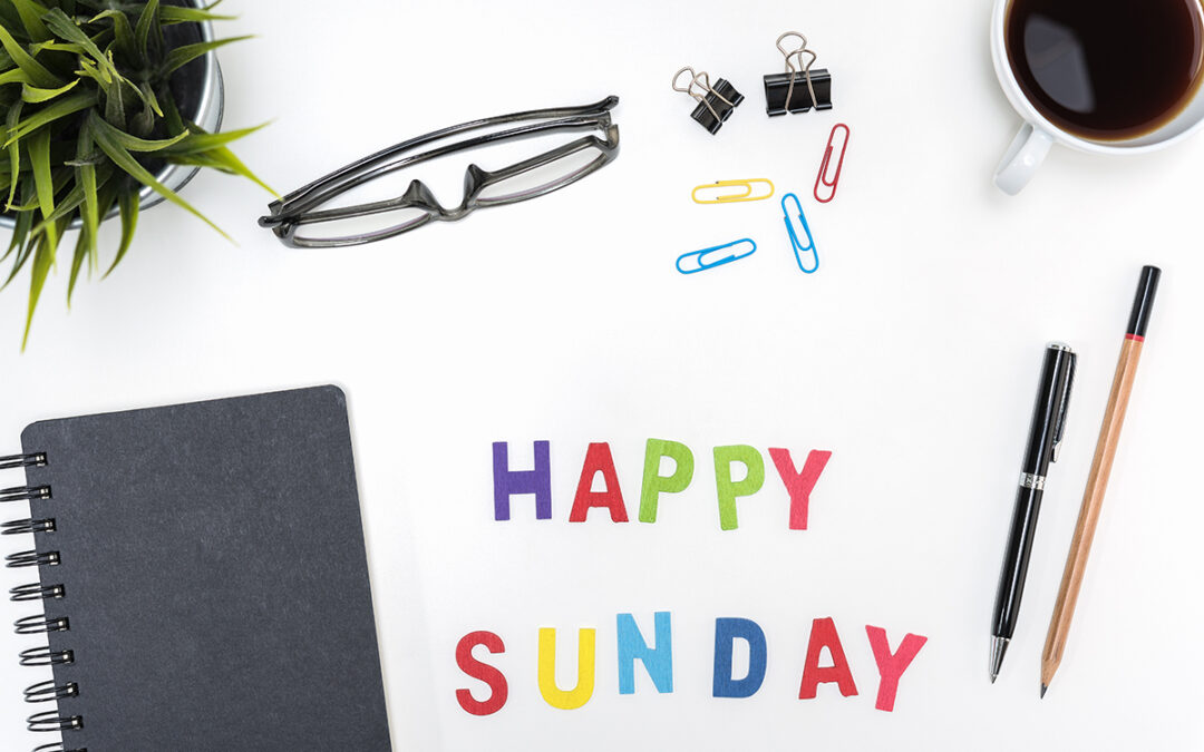 13 Easy Things You Can Do on a Sunday to Start Your Week Off Right