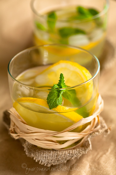 Sparkling Pineapple Mint Juice and Summer Drink Ideas