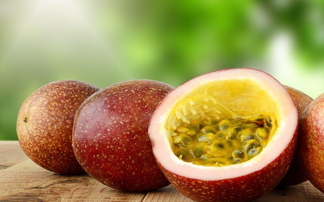 Passion Fruit and Mango Juice