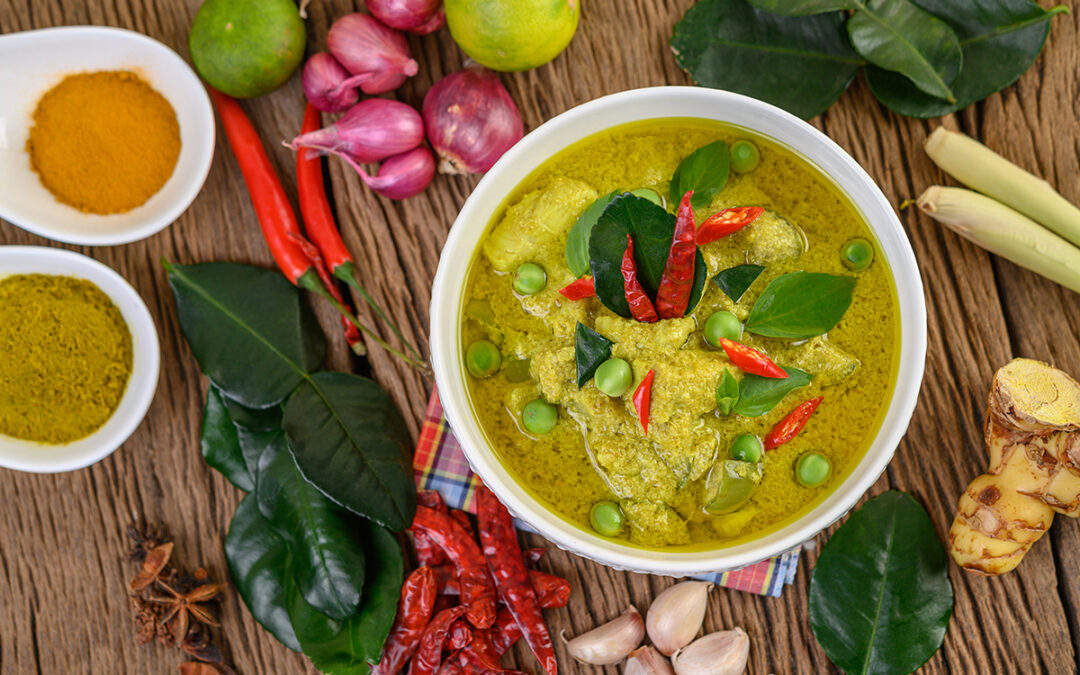 Cooking with Peung – Green Curry