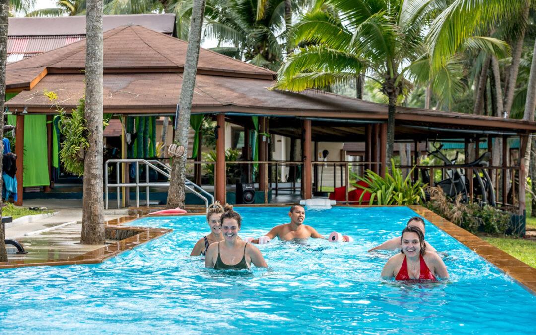 Discover the fitness benefits of aqua aerobics