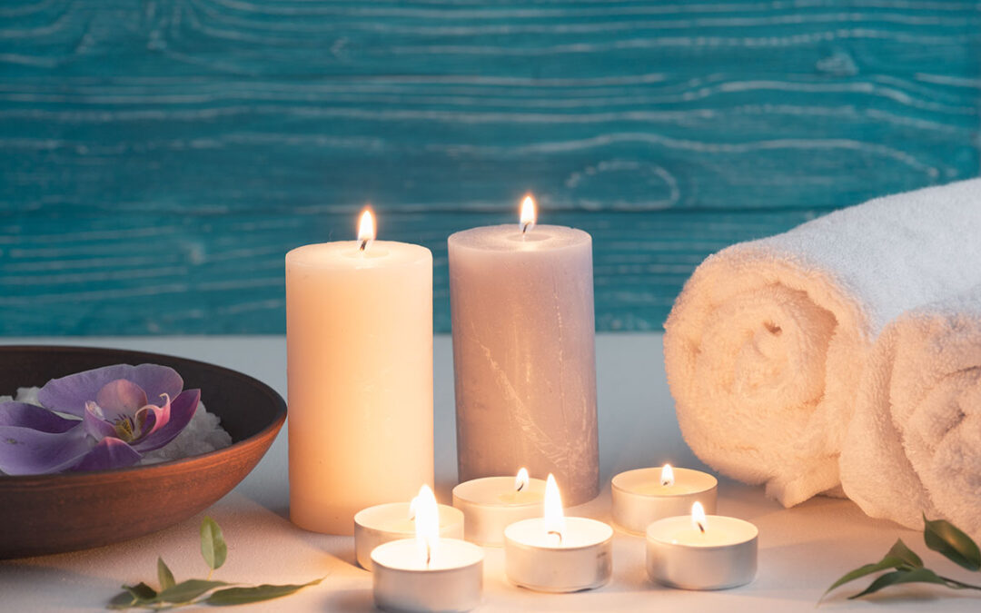 DIY Tips to do at home on the weekend : Scented Candles !