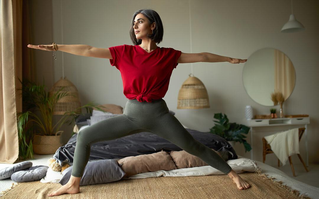 The Warrior Pose – Yoga with Da
