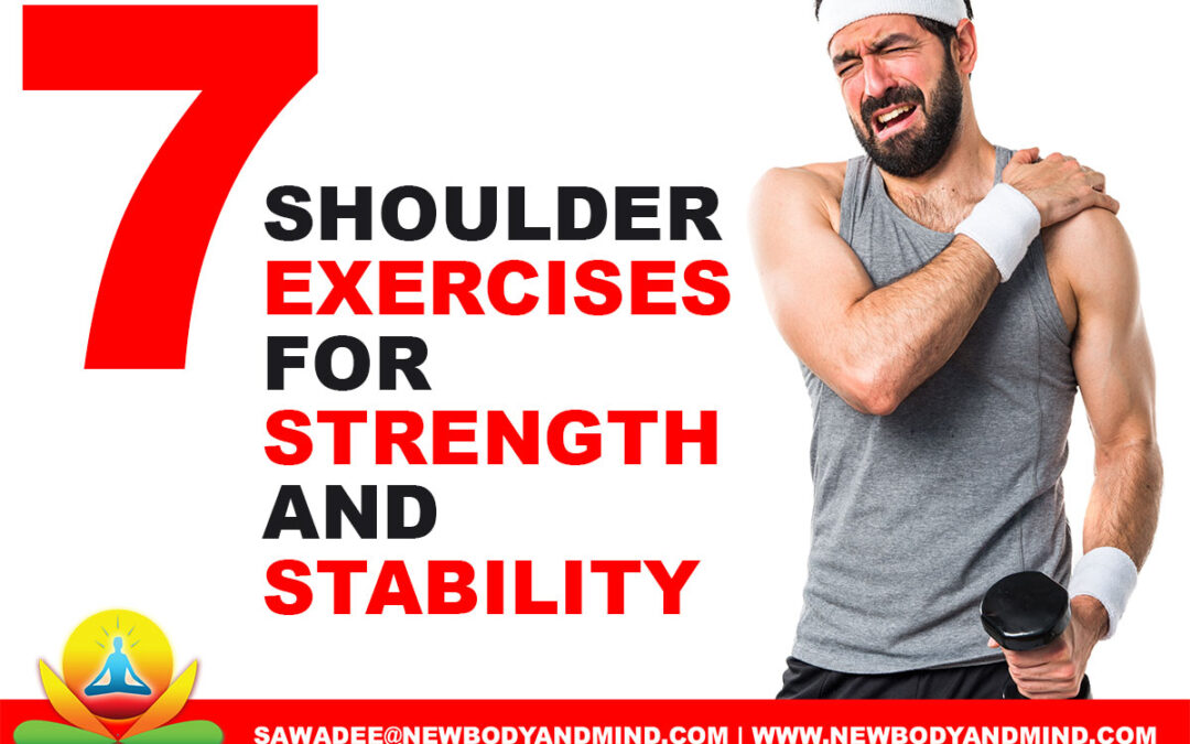 7 Shoulder Exercises for Strength and Stability