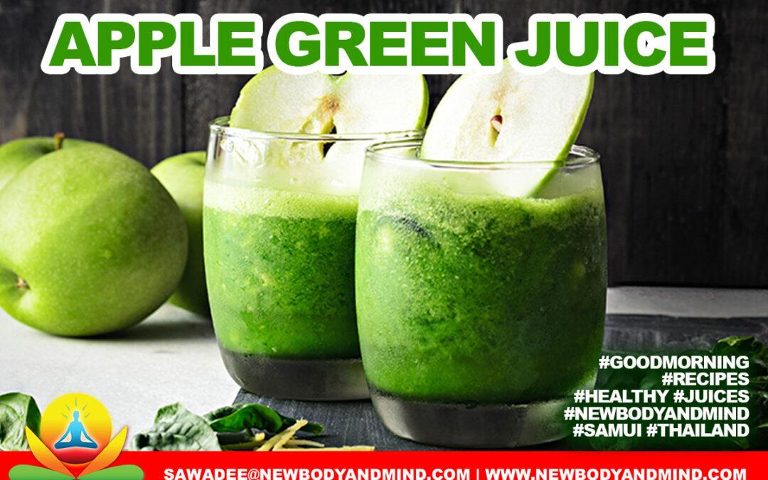 Apple Green Juice
