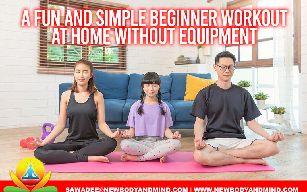 A Fun and Simple Beginner Workout at Home Without Equipment