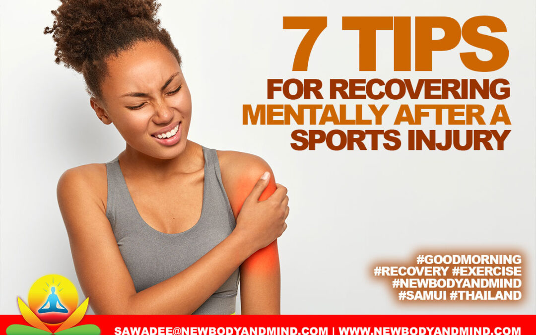 7 Tips For Recovering Mentally After A Sports Injury